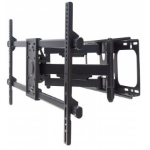 "Manhattan 461290 flat panel wall mount 2.29 m (90"") Black"