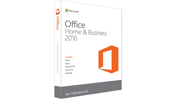 Microsoft Office Home & Business 2016, EN 1user(s) English