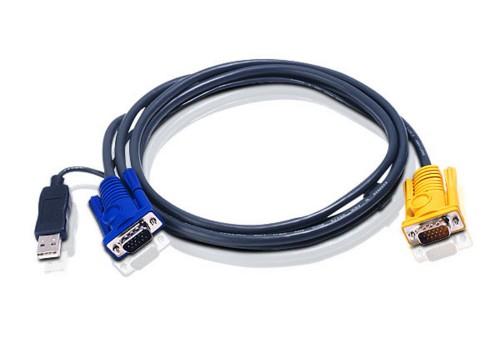 Aten 2L5202UP KVM cable Black 1.8 m