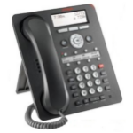 Avaya 1408 Wired handset 8lines Black IP phone