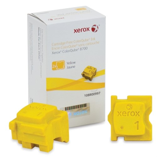 Xerox 108R00997 Dry ink in color-stix, 4.2K pages, Pack qty 2