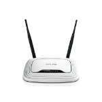 TP-LINK TL-WR841N wireless router Single-band (2.4 GHz) Fast Ethernet White