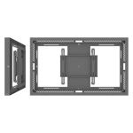 "SMS Smart Media Solutions 55L/P CASING WALL G1 DG DARK GREY RAL7016 139.7 cm (55"")"