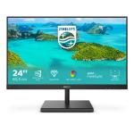 "Philips E Line 245E1S/00 LED display 60.5 cm (23.8"") 2560 x 1440 pixels 2K Ultra HD LCD Black"