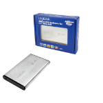 "LogiLink UA0041A storage drive enclosure 2.5"" Silver"