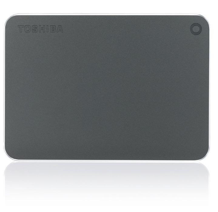 Toshiba Canvio Premium 1TB 1000GB Grey,Metallic