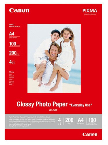 Canon GP-501 A4 Gloss photo paper