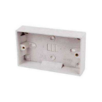 RED GREY DOUBLE PATTRESS BACK BOX - STANDARD
