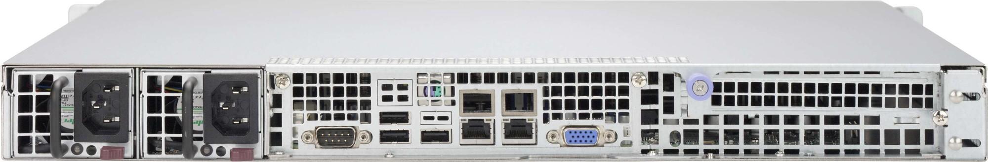 1U CHASSIS 2X 2.5 SAS/SATA 400WR GOLD 1FP EATX (CSE-514-R400C)