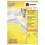 Avery L7656-100 self-adhesive label White 8400 pc(s)
