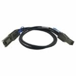 """QNAP CAB-SAS20M-8644-8088 Serial Attached SCSI (SAS) cable 78.7"""" (2 m) Black"""