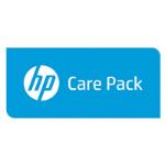 Hewlett Packard Enterprise 5y CTR w/DMR MSA2000 Encl PCA SVC maintenance/support fee