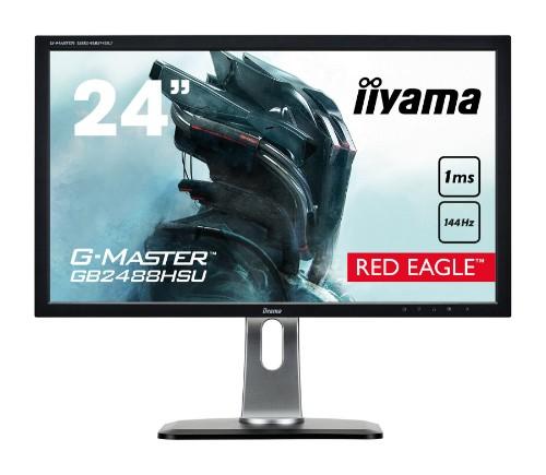 """iiyama G-MASTER GB2488HSU-B3 24"""" Full HD LED Matt Flat Black computer monitor"""