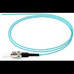 Microconnect FIBSTM3PIG2 2m ST/UPC Aqua colour fiber optic cable