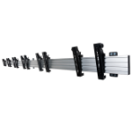 "B-Tech BT8330-WL2X1-47-T TV mount 119.4 cm (47"") Black,Silver"
