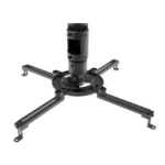 Peerless MOD-PJF2KIT100-CPF-B projector mount accessory Black