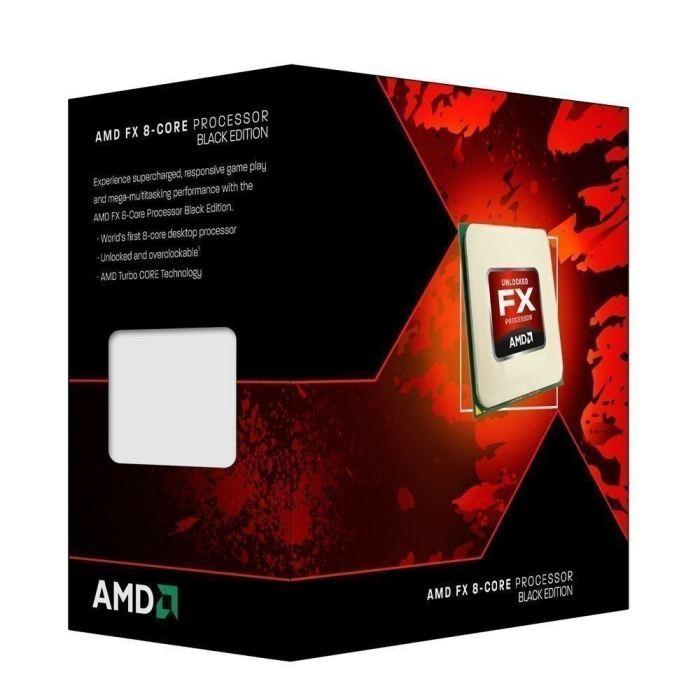 AMD FX 8320 3.5GHz 1MB L2 Box processor