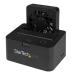 StarTech.com Base de Conexión Externa USB 3.0 UASP y eSATA con Ventilador para Disco Duro SATA III 6Gbps de 2,5 y 3,5 Pulgadas