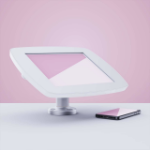 """Bouncepad Swivel Desk tablet security enclosure 25.6 cm (10.1"""") White"""