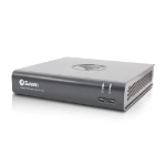 Swann DVR-4580 digital video recorder Black, Grey