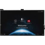 "Viewsonic IFP8670 interactive whiteboard 2.18 m (86"") 3840 x 2160 pixels Touchscreen Black HDMI"