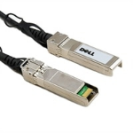 DELL 470-ABQE fibre optic cable 3 m QSFP28 Black, Stainless steel