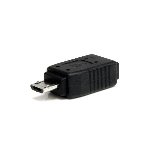 StarTech.com Adaptador Mini USB a Micro USB - 1x MicroUSB-B Macho - 1x MiniUSB-B Hembra
