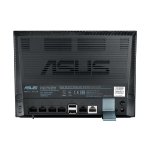 ASUS DSL-N17U Fast Ethernet Black wireless router
