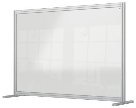 Nobo 1915490 magnetic board Gray, Transparent