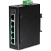 Trendnet TI-PE50 switch No administrado Fast Ethernet (10/100) Negro Energía sobre Ethernet (PoE)