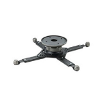 Omnimount UNIVERSAL PROJECTOR CEILING MOUNT - 18KG MAX, BLACK 30 PITCH, 30 ROLL