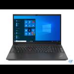 """Lenovo ThinkPad E15 Notebook 39.6 cm (15.6"""") 1920 x 1080 pixels Intel Core i7-11xxx 16 GB DDR4-SDRAM 512 GB SSD Wi-Fi 6 (802.11ax) Windows 10 Pro Black"""