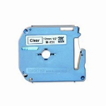 Brother M131 Transparent M printer label