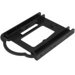 "StarTech.com BRACKET125PTP drive bay panel 3.5"" Carrier panel Black"