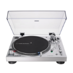 Audio-Technica AT-LP120XUSB Belt-drive audio turntable Silver
