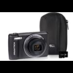 Praktica Luxmedia Z212 LE Camera Kit including 32GB MicroSD Card & Case - Graphite