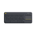 Logitech K400 Plus RF Wireless QWERTY UK English Black keyboard