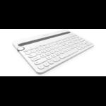 Logitech K480 Bluetooth White mobile device keyboard