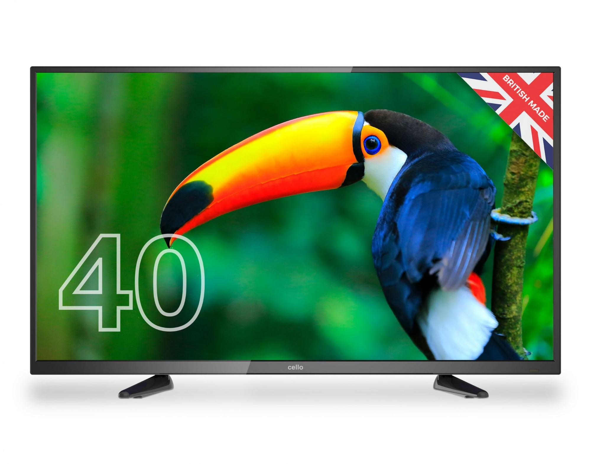"""Cello C4020DVB TV 101.6 cm (40"""") Full HD Black"""