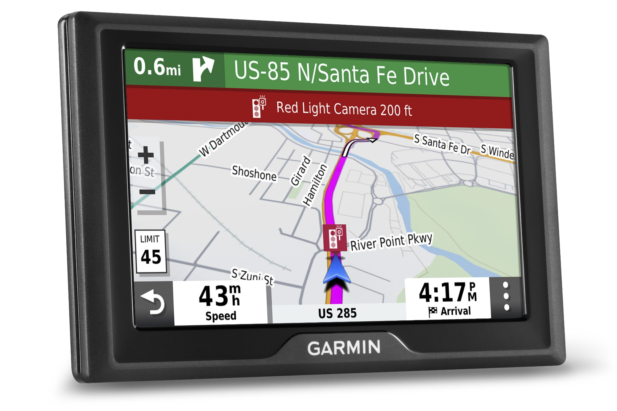 Drive 52 & Live Traffic 5in UK/IRL Sat Nav with Bluetooth Smartphone App