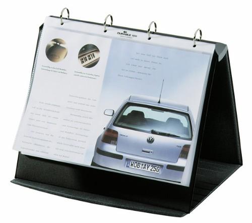 Durable Durastar Freestanding PVC Graphite, Grey