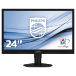Philips S Line LCD monitor, LED backlight 241S4LCB/00