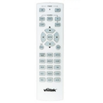 Vivitek 5041843400 remote control IR Wireless Projector Press buttons