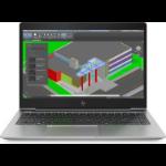 "HP ZBook 14U G5 Silver Mobile workstation 35.6 cm (14"") 1920 x 1080 pixels 8th gen Intel® Core™ i7 i7-8550U 16 GB DDR4-SDRAM 512 GB SSD"