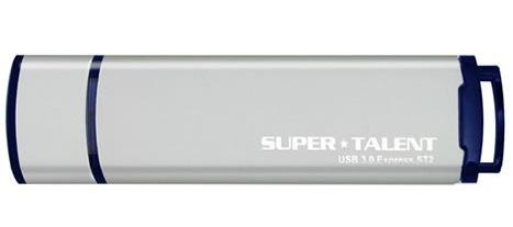 Super Talent Technology 32GB USB 3.0 Express ST2 32GB USB 3.0 (3.1 Gen 1) Type-A Grey USB flash drive
