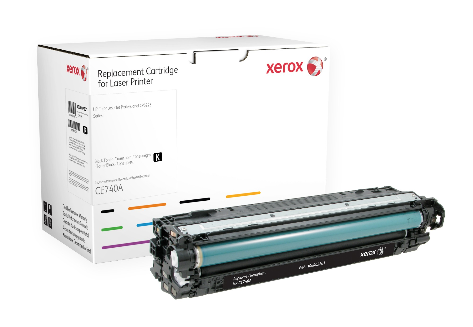 Xerox 106R02261 compatible Toner black, 7K pages @ 5% coverage (replaces HP 307A)