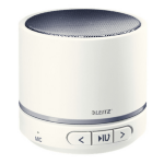 Leitz 63581001 Mono portable speaker 3W White