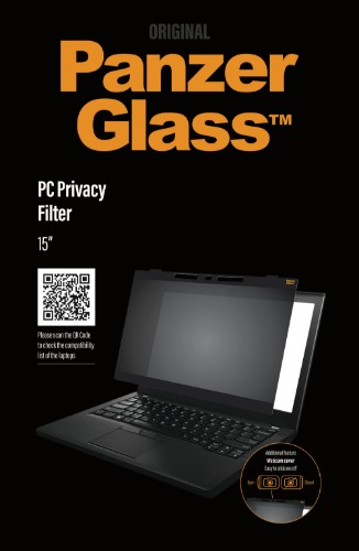 PanzerGlass Dual PC privacy 15