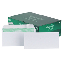 Basildon Envelopes Wallet Peel and Seal 120gsm White DL Ref [Pack 500]