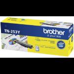 Brother TN-253Y Yellow Toner Cartridge to Suit -  HL-3230CDW/3270CDW/DCP-L3015CDW/MFC-L3745CDW/L3750CDW/L377